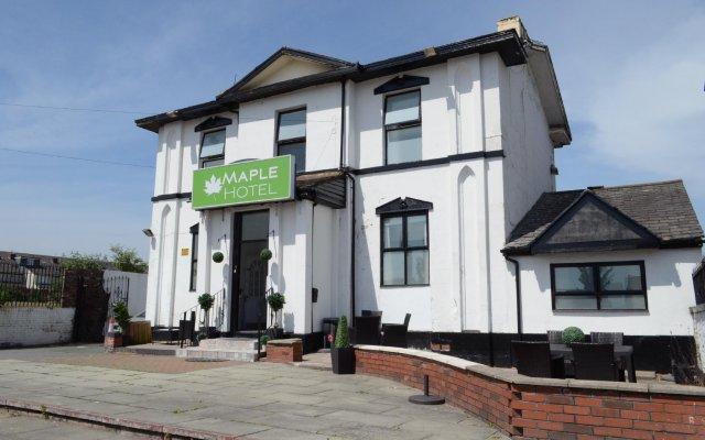 Отель The Maple Hotel Великобритания, Ливерпуль - отзывы, цены и фото номеров - забронировать отель The Maple Hotel онлайн вид на фасад