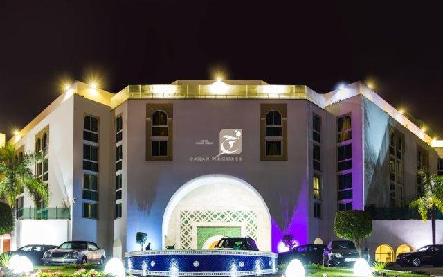 Отель Golden Tulip Farah Rabat Марокко, Рабат - отзывы, цены и фото номеров - забронировать отель Golden Tulip Farah Rabat онлайн вид на фасад