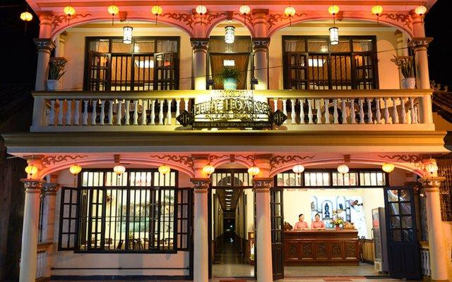 Отель Huy Hoang River Хойан вид на фасад