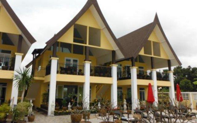 Отель Paradise Garden Resort вид на фасад