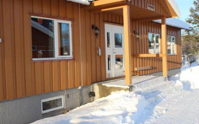 Отель Osensjøens Adventure вид на фасад