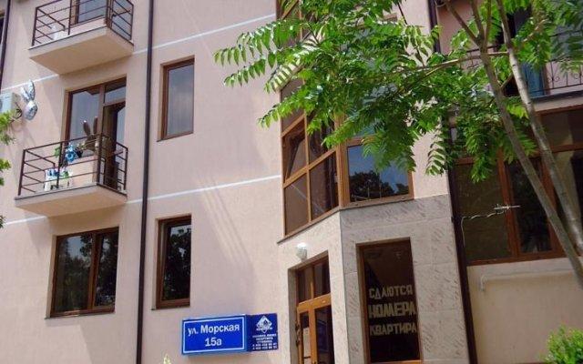 Гостиница Кузбасс в Большом Геленджике 3 отзыва об отеле, цены и фото номеров - забронировать гостиницу Кузбасс онлайн Большой Геленджик вид на фасад