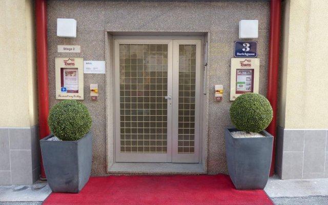 Отель Towns Apartments Австрия, Вена - отзывы, цены и фото номеров - забронировать отель Towns Apartments онлайн вид на фасад