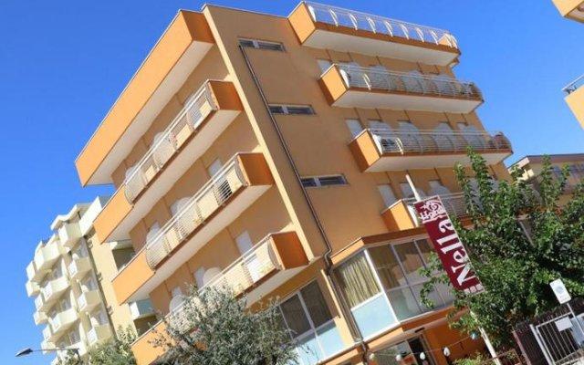 Hotel Nella Римини вид на фасад