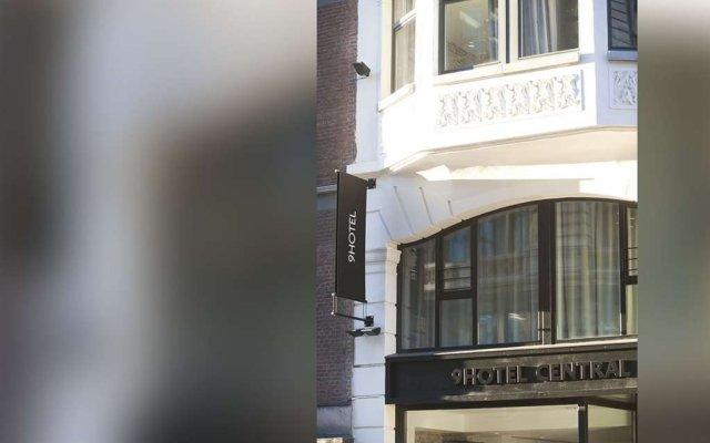 Отель Le 9Hotel Central Брюссель вид на фасад