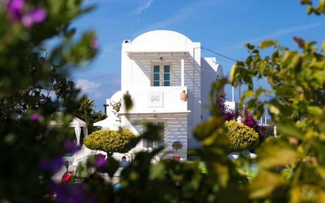 Отель Meli Meli Греция, Остров Санторини - отзывы, цены и фото номеров - забронировать отель Meli Meli онлайн вид на фасад