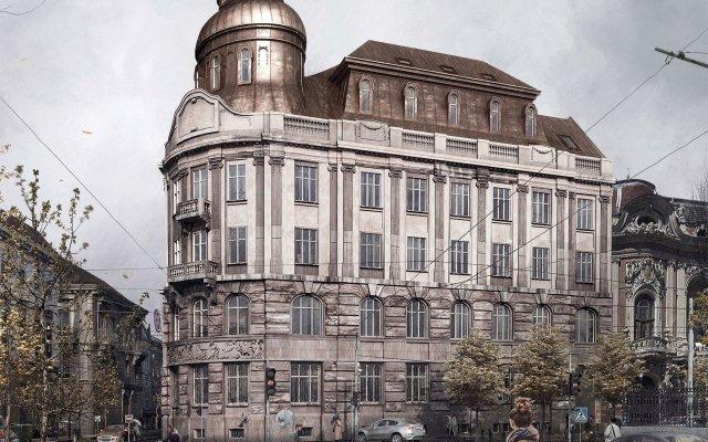 Гостиница Bank Hotel Украина, Львов - 1 отзыв об отеле, цены и фото номеров - забронировать гостиницу Bank Hotel онлайн вид на фасад