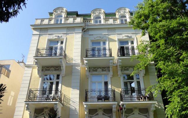 Hotel Park Villa Вена вид на фасад