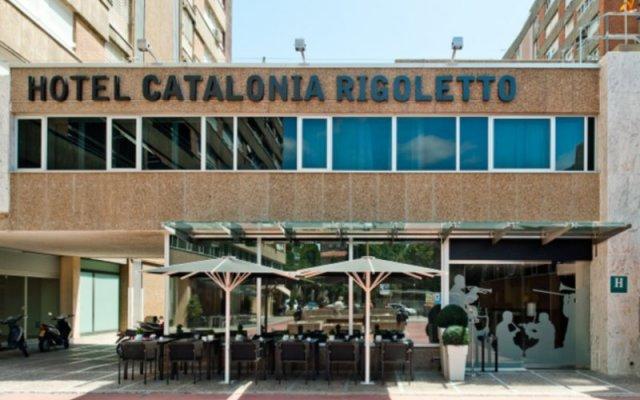 Catalonia Rigoletto Hotel вид на фасад