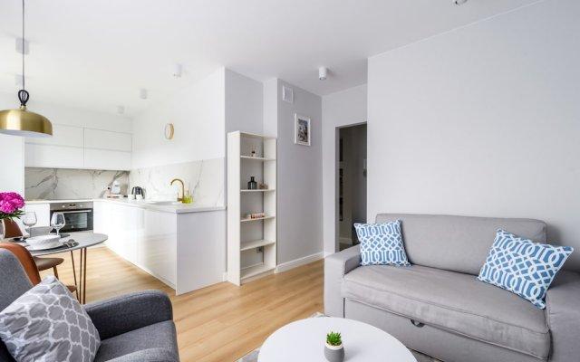 Отель P&O Apartments Bialobrzeska 2 Польша, Варшава - отзывы, цены и фото номеров - забронировать отель P&O Apartments Bialobrzeska 2 онлайн комната для гостей