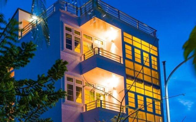 Отель City Grand by Rivers Мальдивы, Мале - отзывы, цены и фото номеров - забронировать отель City Grand by Rivers онлайн вид на фасад