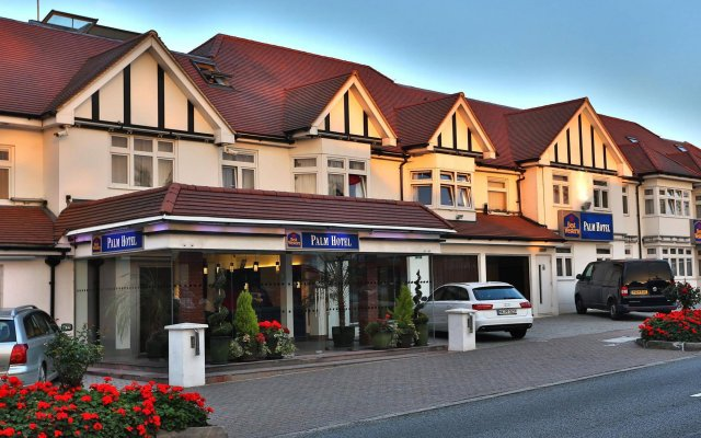 Отель Best Western Palm Hotel Великобритания, Лондон - отзывы, цены и фото номеров - забронировать отель Best Western Palm Hotel онлайн вид на фасад