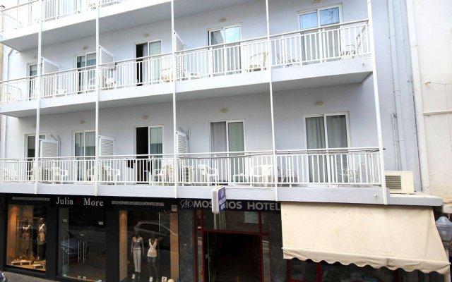 Отель Moschos Hotel Греция, Родос - отзывы, цены и фото номеров - забронировать отель Moschos Hotel онлайн вид на фасад