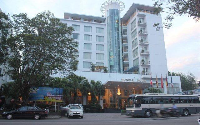 Отель Mondial Hotel Hue Вьетнам, Хюэ - отзывы, цены и фото номеров - забронировать отель Mondial Hotel Hue онлайн вид на фасад