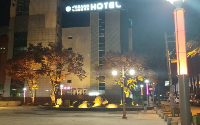 Отель Goodstay New Grand Hotel Южная Корея, Тэгу - отзывы, цены и фото номеров - забронировать отель Goodstay New Grand Hotel онлайн вид на фасад
