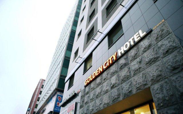 Golden City Hotel Dongdaemun вид на фасад