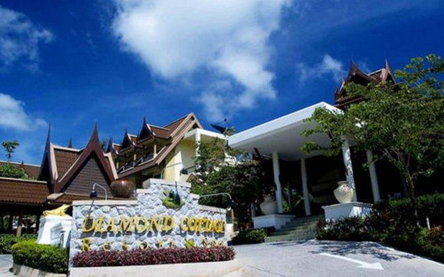 Отель Diamond Cottage Resort And Spa пляж Ката вид на фасад