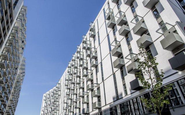 Отель Varsovia Apartamenty Kasprzaka вид на фасад