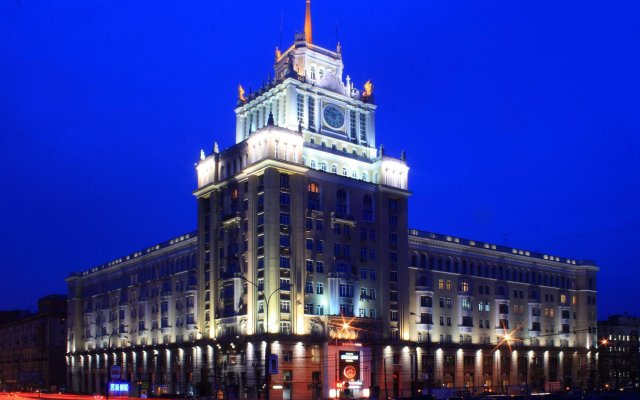 Гостиница Пекин вид на фасад