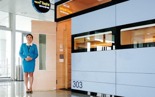 Отель VATC SleepPod Terminal 2 вид на фасад