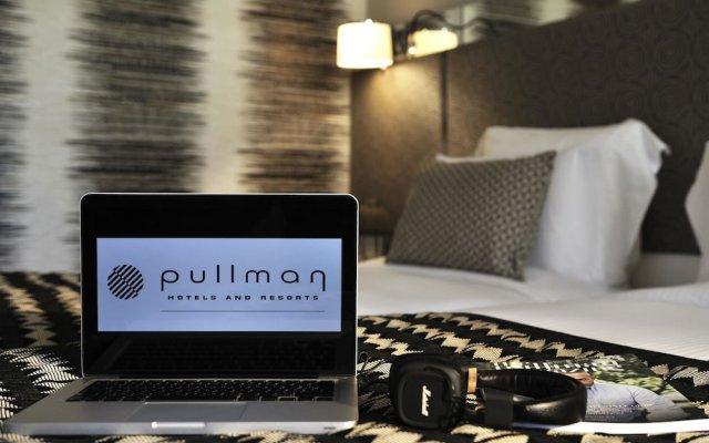 Отель Pullman Dakar Teranga вид на фасад