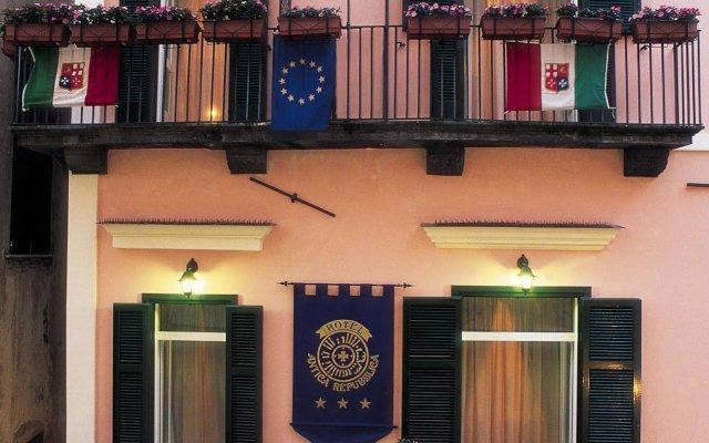 Отель Antica Repubblica Amalfi вид на фасад