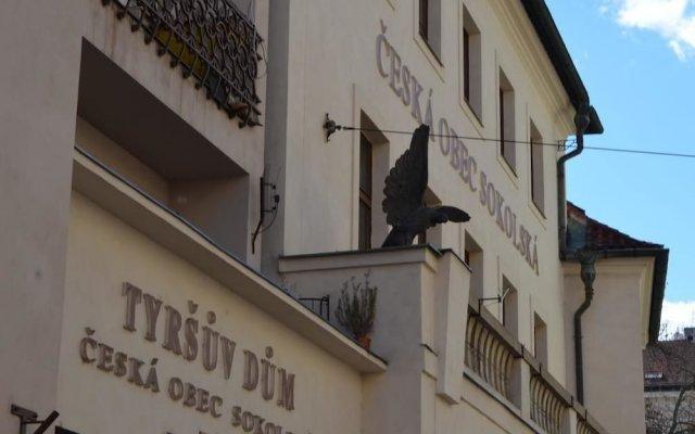 Апартаменты Old Prague Apartment Прага вид на фасад