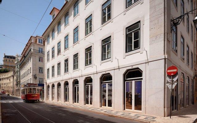 Отель Residentas Aurea Лиссабон вид на фасад