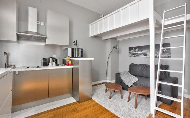 Отель 50 - Loft Flat Paris Marais 2G комната для гостей