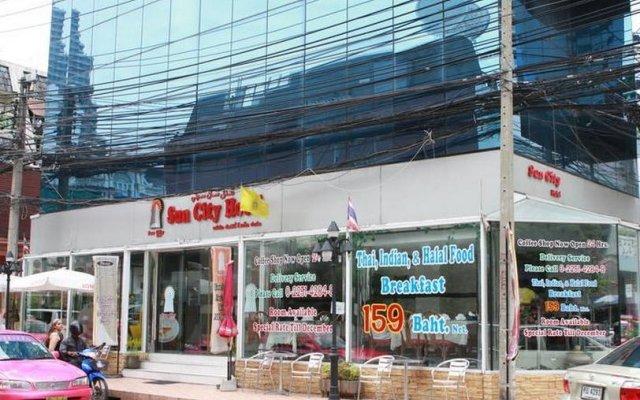 Отель Sun City Bangkok Бангкок вид на фасад