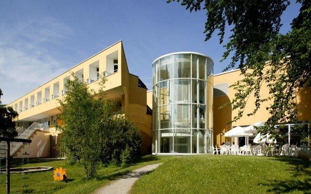 Hotel St. Virgil Salzburg Зальцбург вид на фасад