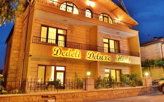 Dedeli Deluxe Hotel Турция, Ургуп - отзывы, цены и фото номеров - забронировать отель Dedeli Deluxe Hotel онлайн вид на фасад