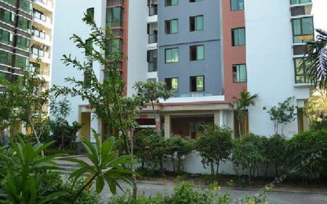 Апартаменты Lvjia Holiday Apartment Xinlang Guoji вид на фасад