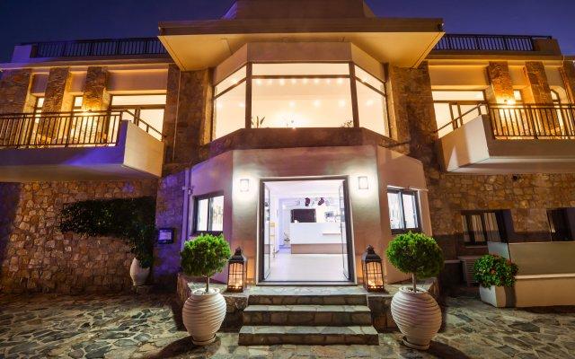 Отель Happy Cretan Suites вид на фасад