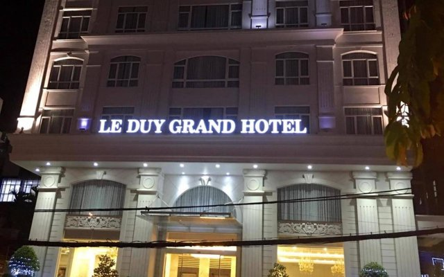 Отель Le Duy Grand Хошимин вид на фасад