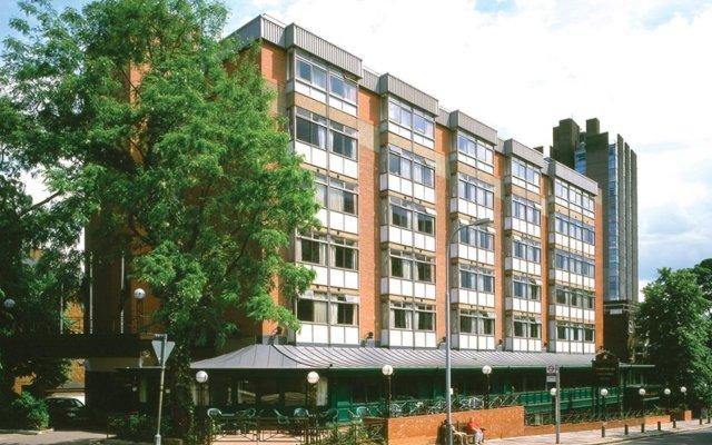 Отель Britannia Hampstead Лондон вид на фасад