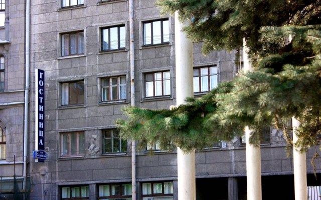 Отель Меблированные комнаты На Садовой Санкт-Петербург вид на фасад