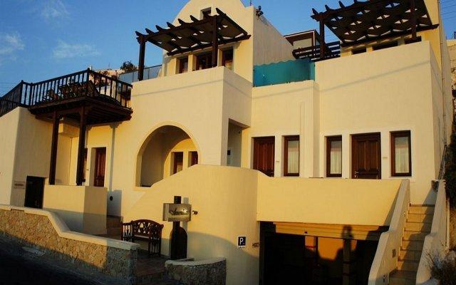 Отель Amerisa Suites Греция, Остров Санторини - отзывы, цены и фото номеров - забронировать отель Amerisa Suites онлайн вид на фасад