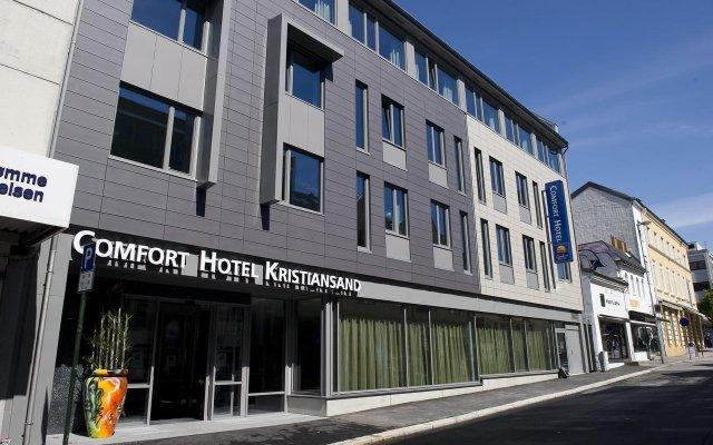 Отель Comfort Hotel Kristiansand Норвегия, Кристиансанд - отзывы, цены и фото номеров - забронировать отель Comfort Hotel Kristiansand онлайн вид на фасад