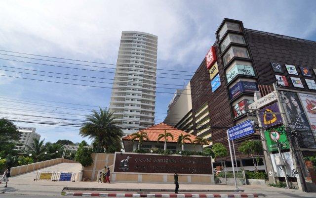 Отель View Talay 6 Condominium by Honey Таиланд, Паттайя - 1 отзыв об отеле, цены и фото номеров - забронировать отель View Talay 6 Condominium by Honey онлайн вид на фасад
