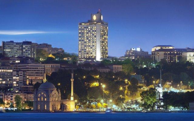 Отель InterContinental Istanbul вид на фасад