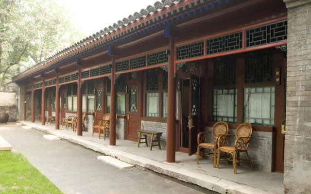 Отель Courtyard 7 Пекин вид на фасад