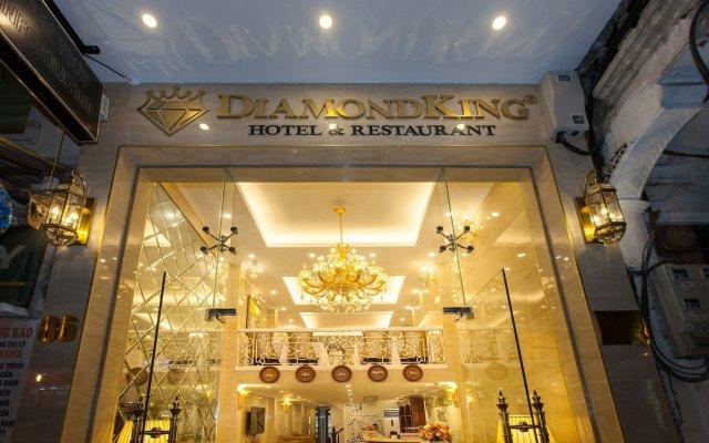 Отель Hanoi Diamond King Ханой вид на фасад