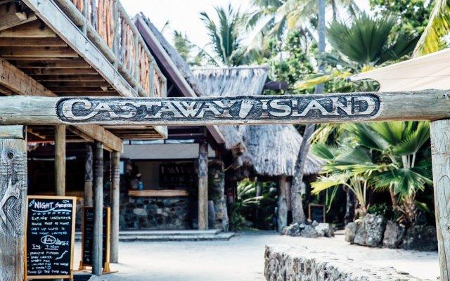 Отель Castaway Island Fiji вид на фасад