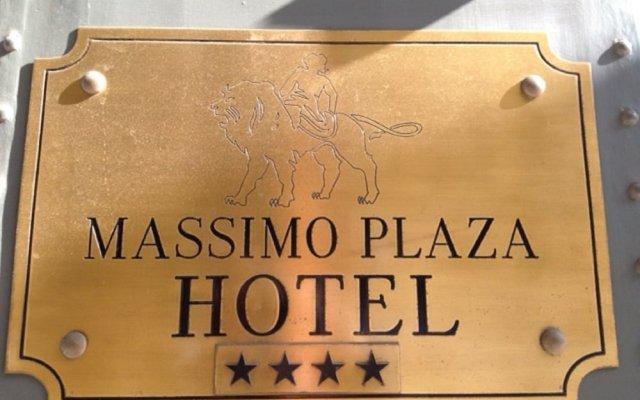Massimo Plaza Hotel вид на фасад