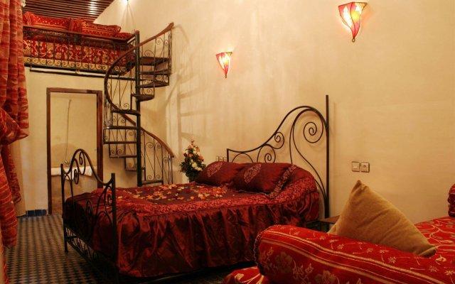 Отель Riad Youssef Марокко, Фес - отзывы, цены и фото номеров - забронировать отель Riad Youssef онлайн комната для гостей