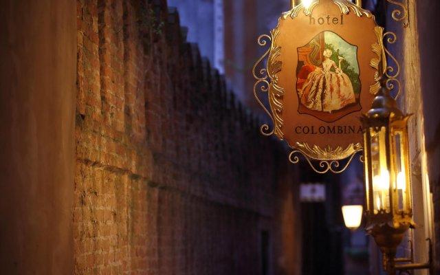 Отель COLOMBINA Венеция вид на фасад