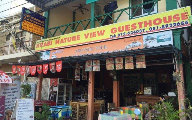 Отель Krabi Nature View Guesthouse вид на фасад