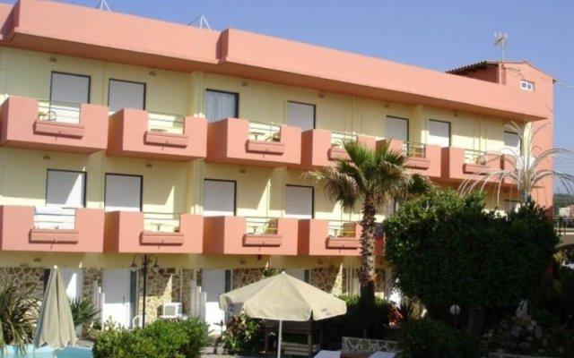 Hotel Haris вид на фасад