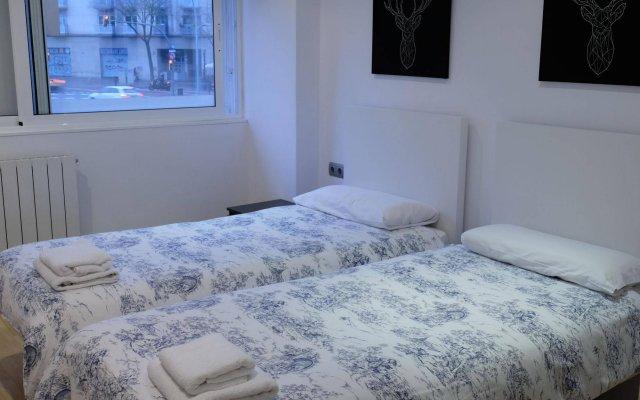 Отель Apartamentos BCN PORT комната для гостей